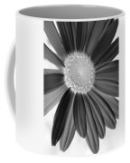 A Solo Daisy In Negative Coffee Mug
