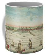 A South East View Of The Great Town Of Boston In New England In America, 1730 Coffee Mug