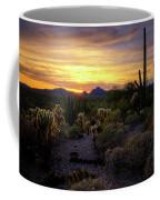 A Southern Arizona Sunset  Coffee Mug