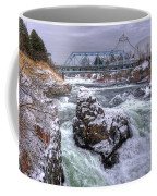 A Spokane Falls Winter Coffee Mug