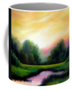 A Spring Evening Coffee Mug by James Christopher Hill
