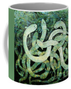 A Squirm Of Eels At The Bottom Of The Pond Coffee Mug