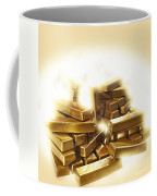 A Stack Of Gold Bullion  Coffee Mug