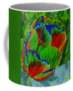 A Stained Tullip   Coffee Mug