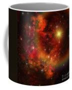 A Star Explodes Sending Out Shock Waves Coffee Mug by Corey Ford