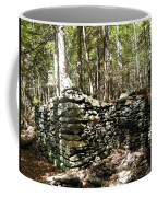 A Stone Structure In The Berkshire Hills Coffee Mug
