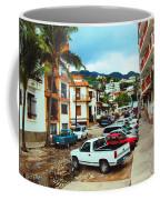 A Street In Puerto Vallarta Coffee Mug