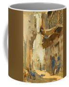 A Street Scene In Cairo Coffee Mug