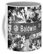 Ba - A Street Sign Named Baldwin Coffee Mug