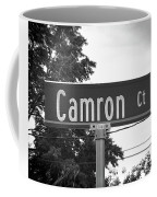 Ca - A Street Sign Named Camron Coffee Mug