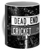 Cr - A Street Sign Named Cricket Coffee Mug
