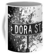 Do - A Street Sign Named Dora Coffee Mug
