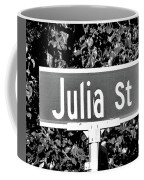 Ju - A Street Sign Named Julia Coffee Mug