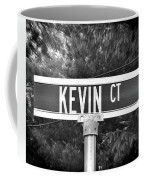 Ke - A Street Sign Named Kevin Coffee Mug