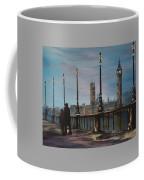 An Evening Stroll Along The Thames  Coffee Mug