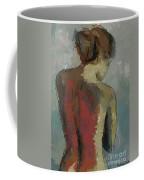 A Study Of A Standing Nude Coffee Mug