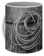 A Study Of Wire In Gray Coffee Mug