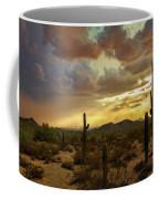A Summer Evening In The Sonoran  Coffee Mug