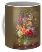 A Summer Floral Arrangement Coffee Mug