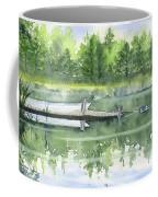 A Summer Pond Coffee Mug