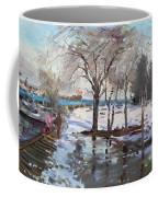 A Sunny Freezing Day Coffee Mug