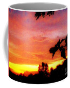A Sunset With A Different Mood Coffee Mug