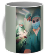 A Surgeon Taking Selfie  Coffee Mug