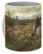 A Sussex Lane, 1872 Coffee Mug