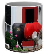 A Swiss Cow In New Glarus Wi Coffee Mug