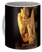 A Temple Winged Lion In The Petra Coffee Mug