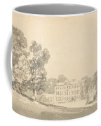 A Three Storied Georgian House In A Park Coffee Mug