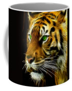 A Tiger's Stare Coffee Mug