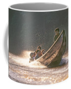A Tigertail Boat On The Ping River Coffee Mug