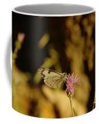 A Tilting Butterfly  Coffee Mug