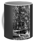 A Time To Go Fishing Bw Coffee Mug