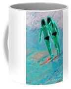 A Topless Stroll Coffee Mug