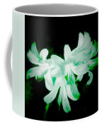 A Touch Of Green On The Lilies Coffee Mug
