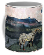 A Tough Horse  Coffee Mug