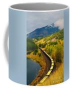 A Train Of Golden Grain  Coffee Mug