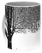 A Tree In Snowy Winter Coffee Mug