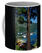 A Trees View Of Fallen Leaf Lake Coffee Mug