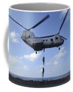A Trio Of Marines Fast Rope Coffee Mug