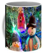 A Trio Of Snowmen Coffee Mug