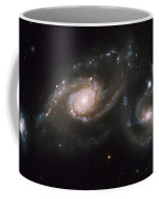 A Triplet Of Galaxies Known As Arp 274 Coffee Mug by Stocktrek Images