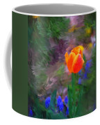 A Tulip Stands Alone Coffee Mug