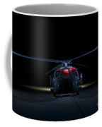 A Uh-60 Black Hawk Helicopter Lit Coffee Mug