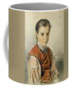 A Ukrainian Peasant Girl Coffee Mug