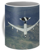 A U.s. Air Force E-3 Sentry Airborne Coffee Mug