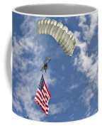 A U.s. Air Force Member Glides Coffee Mug