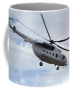 A U.s. Air Force Mi-8 Hip Helicopter Coffee Mug